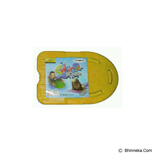 STAMINA Swimming Board [ST-202-958Y] - Yellow - Other Exercise